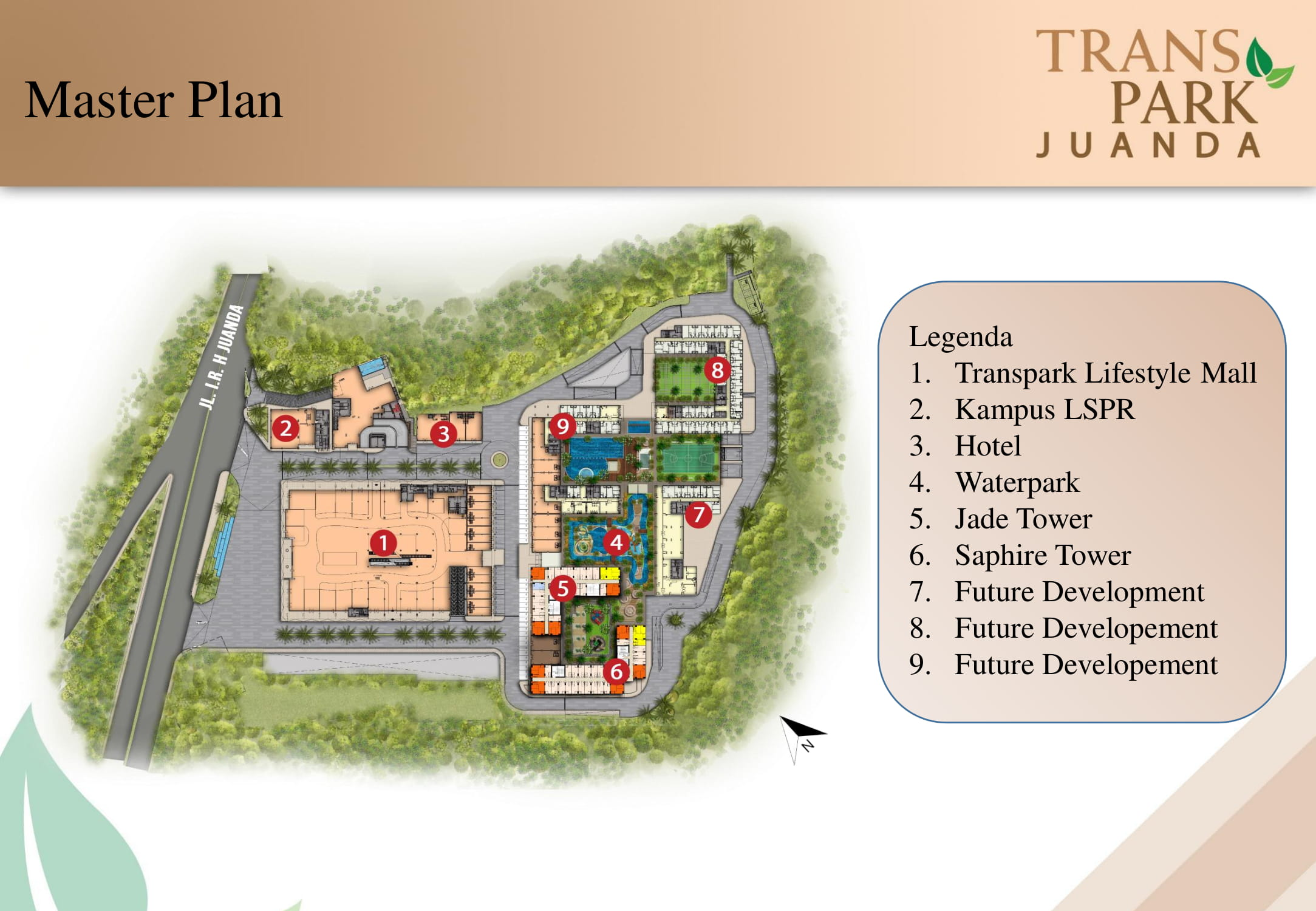 Brosur Transpark Juanda Apartemen Marketing
