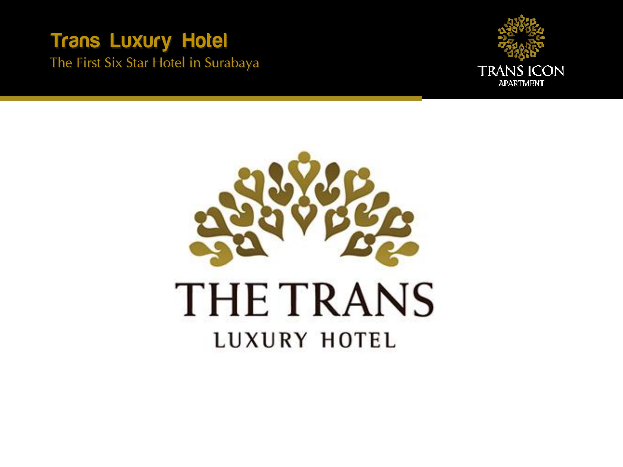 Brosur The Trans Icon Apartemen Marketing