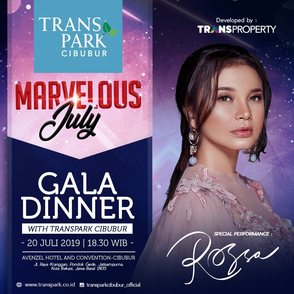 Gala Dinner Marvelous July Transpark Cibubur