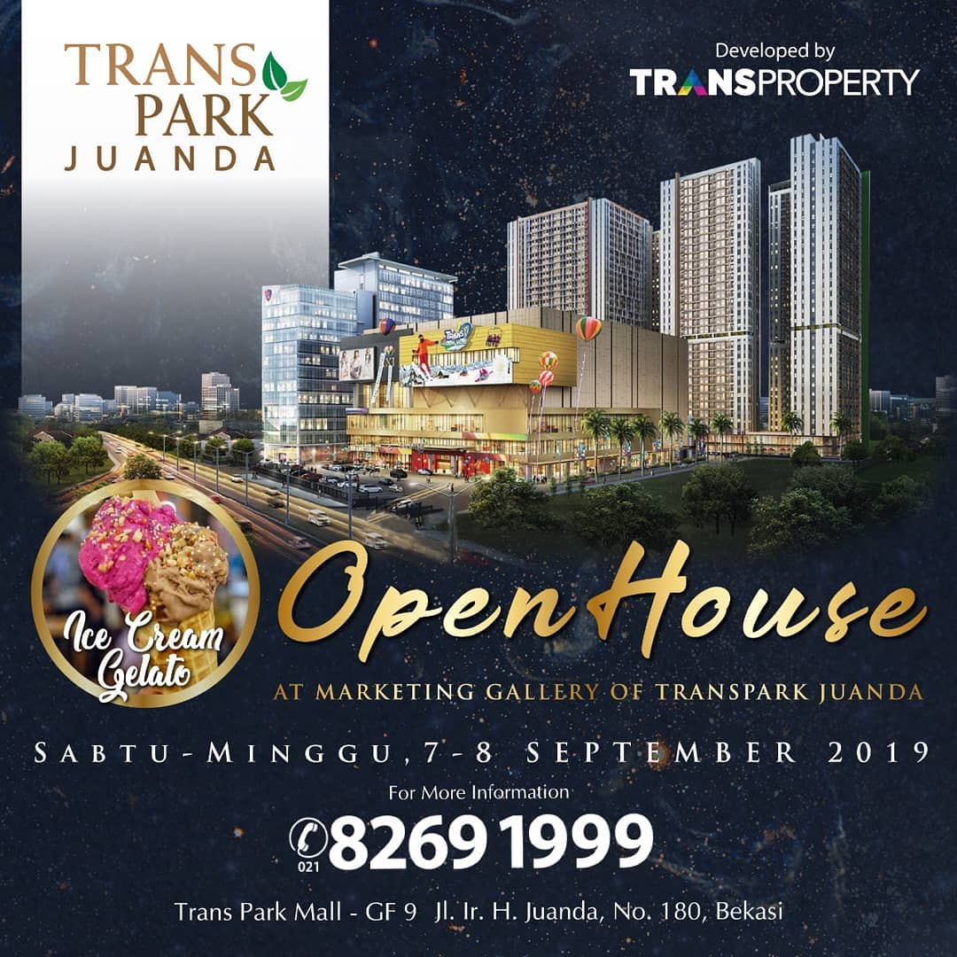 Open House Transpark Juanda 7 & 8 September 2019