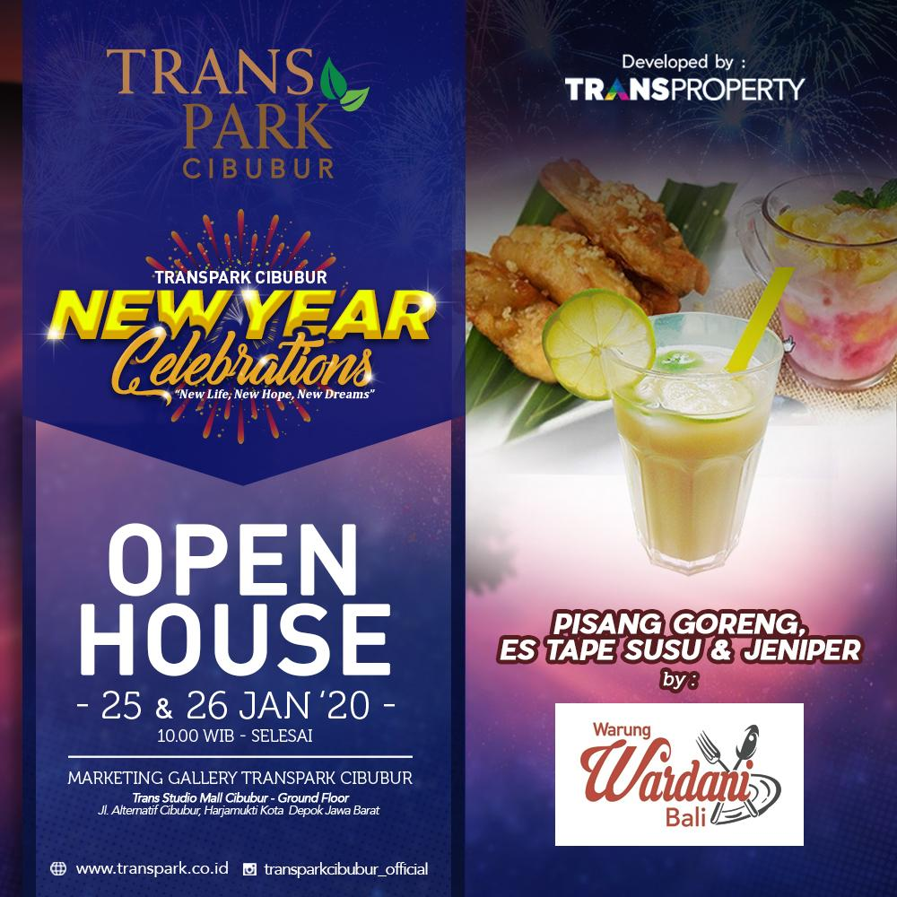 Open House 25 & 26 Januari 2020 Transpark Cibubur