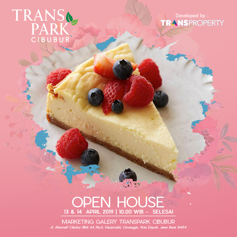 Open House Transpark Cibubur 13 & 14 April 2019