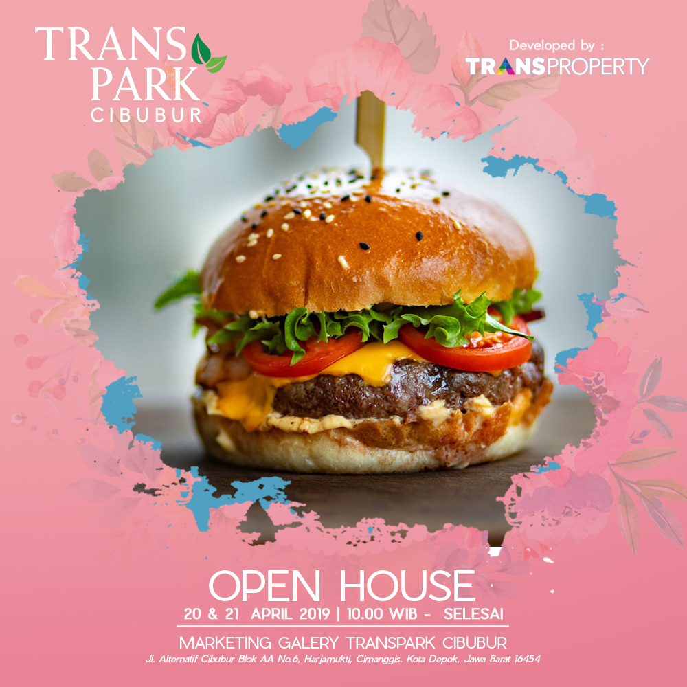 Open House Transpark Cibubur 20 & 21 April 2019