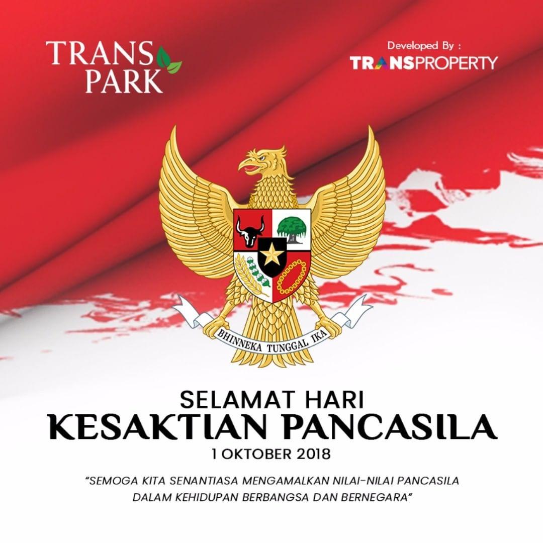 Transpark Official - Selamat Hari Kesaktian Pancasila