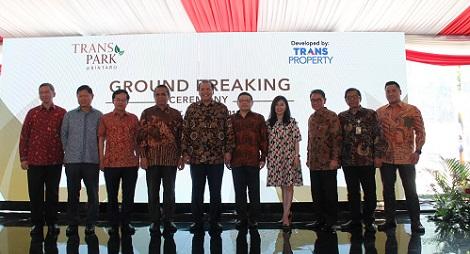 Transpark Official – Transpark Bintaro mulai dibangun