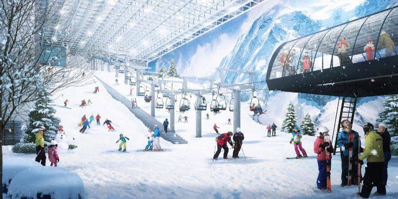 TRANSPARK BINTARO COMING SOON SNOW SOUTH WORLD