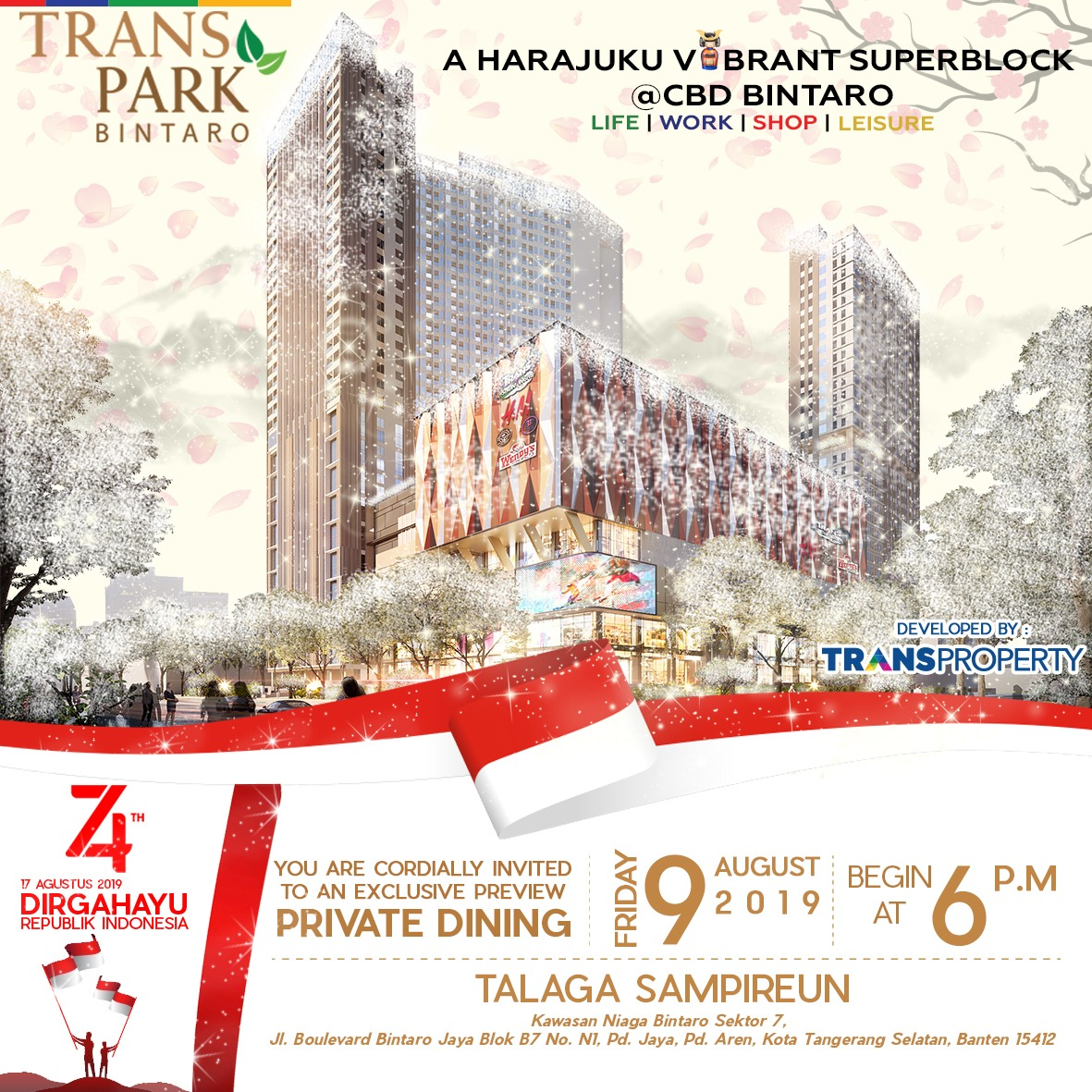 TOPPING OFF SHOPPING MALL TRANSPARK BINTARO