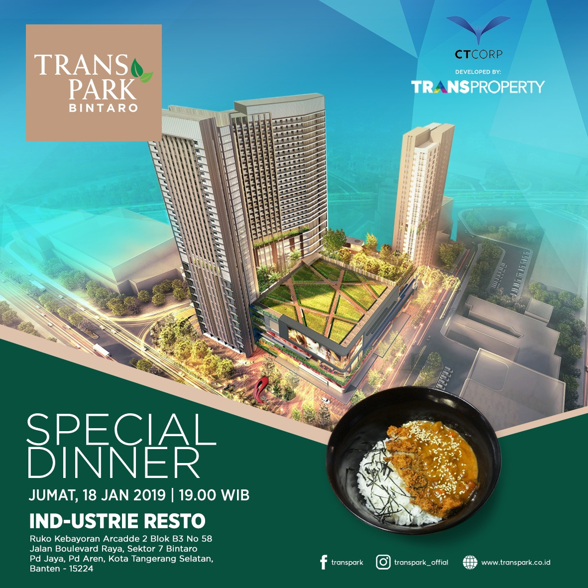 TRANSPARK BINTARO SPECIAL MINI GATHERING